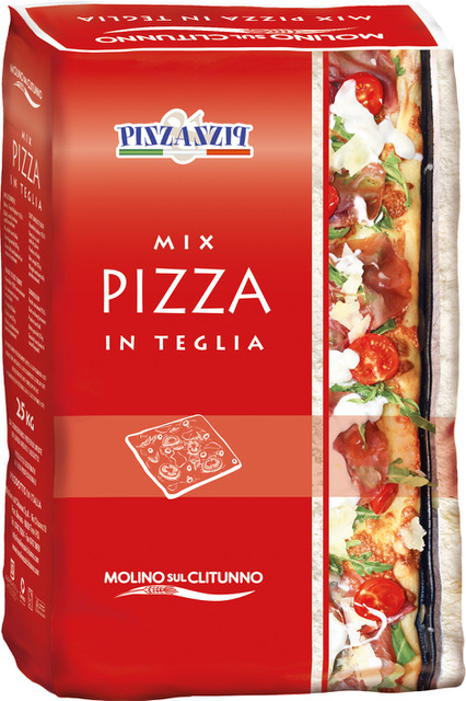 Mix Pizza in Teglia