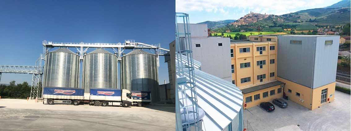 Nuovo impianto di stoccaggio - Molino sul Clitunno