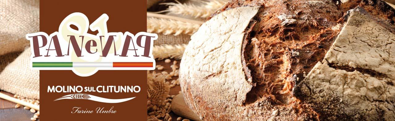 Farine per pane - Molino sul Clitunno