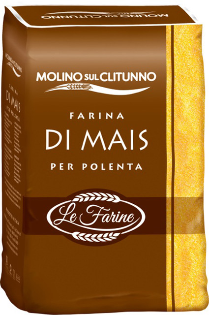 Farina di mais per polenta Molino sul Clitunno