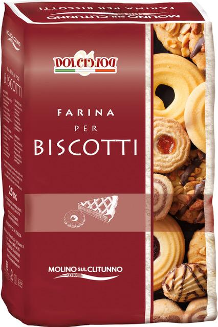 Farina per biscotti - Linea pasticceria Molino sul Clitunno