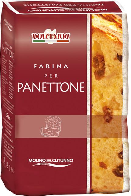 Farina per panettone, pandoro e colomba - Linea pasticceria Molino sul Clitunno