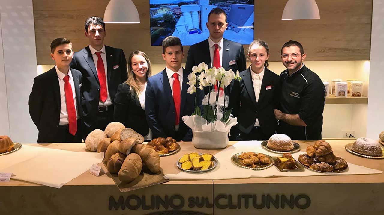 MOLINO SUL CLITUNNO AT SIGEP: SO MANY NEW PRODUCTS AND GREAT EXPECTATIONS