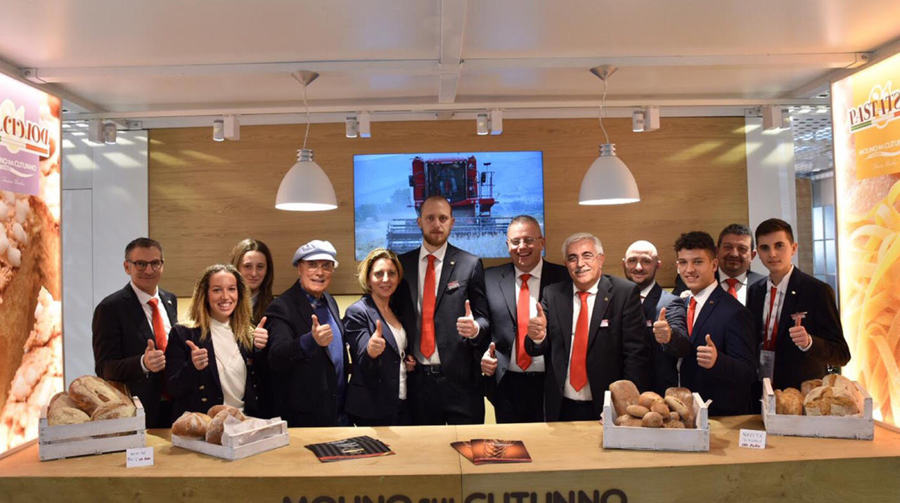 A very positive experience for Molino sul Clitunno at Sigep 2019