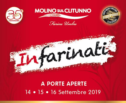 Infarinati - Molino sul Clitunno 14-15-16 Settembre 2019